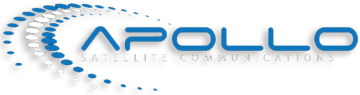 Apollo SatCom logo in footer